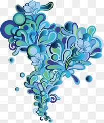 Blue Flower Vine - flower vine free png images and psd downloads pngtree
