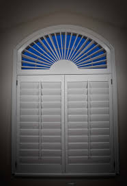 Palladium Windows Window Treatments Designs Great White Outside Mount Blinds For Arched Windows With