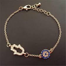 rhinestone bracelet charms images Lemon value fashion charms hamsa hand crystal bracelets vintage jpg