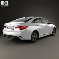 hyundai sonata 2015 hybrid hyundai sonata yf hybrid with hq interior 2015 3d model