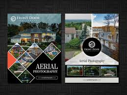 serious professional flyer design for front door photography llc