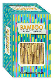 Beaded Doorway Curtains Amazon Com Island Dogs Bamboo Beaded Door Curtain 3ft X 6ft