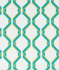 Geometric Drapery Fabric Blue Robert Allen Geometric Drapery Fabric U0026 Supplies