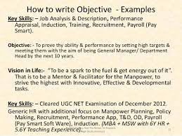 Examples Of Key Skills In Resume by Effective Cv Writing