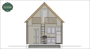 Micro Home Plans by Texas Tiny Homes Plan 572