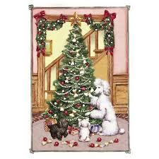 poodle cards the danbury mint