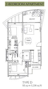 Balmoral Floor Plan Floor Plan The Solitaire At Balmoral Park By City Developments Ltd