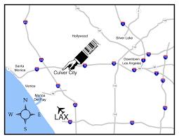Culver City Map Contact Us U2014 Barcode Photo Studio