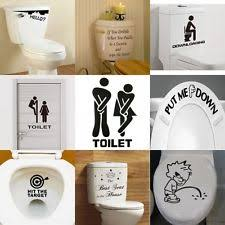 bathroom wall decals ebay