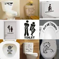 bathroom wall decals ebay
