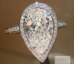 teardrop diamond ring colorless diamond pear shape diamond diamond halo ring