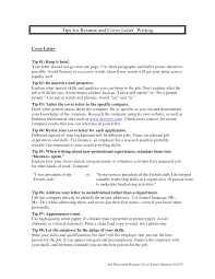 Cover Letter Ideas For Resume Good Cover Letter Tips Resume Cv Cover Letter