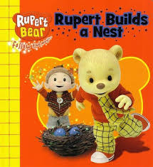 booktopia rupert builds nest rupert bear follow magic