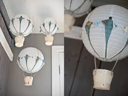 How To Make Paper Air Balloon Lantern - pardiy vintage 1st birthday