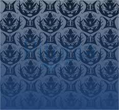 Blau Schwarz Muster Tapetenmuster Blau Olegoff