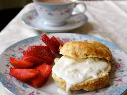 the old fashioned way clotted cream and scone recipe