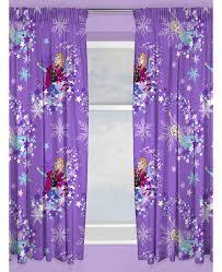 disney frozen snowflake curtains