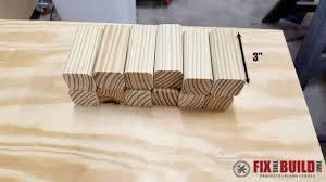 diy wooden doormat fixthisbuildthat