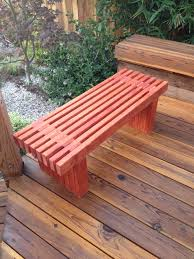 Redwood Planter Boxes by Woodworking Raised Planter Box And Bench Casa De Wade