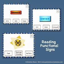 Functional Math Worksheets Functional Reading Tasks And Iep Goals Autism Classroom Resources