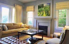 Window Treatment Ideas For Living Room by 25 Roman Shades And Curtain Ideas To Harmonize Modern Living Rooms
