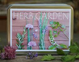 herb seed kit herb garden kit garden gift set gift for