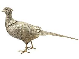 ornamental pheasant for sale ornamental antique silver ac silver