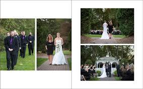 8x10 wedding photo albums christa and frank s album rochester ny wedding photography lori