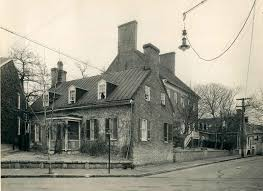 col house now and then pictures the james brice house in annapolis