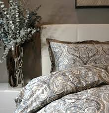 Paisley Single Duvet Cover Luxury Boho Paisley Duvet Cover And Shams 350 Thread Count Cotton