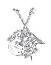 guitar tattoos and designs page 132