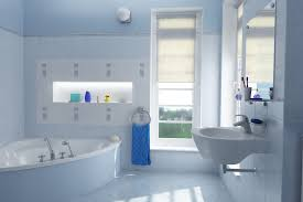 Blue And White Bathroom Accessories by 27 Cool Blue Master Bathroom Designs And Ideas Pictures