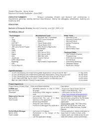 Resume Computer Science Examples 100 Resume Computer Science Examples Computer Science