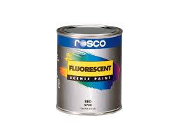 fluorescent paint rosco