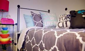 watch this totally stylish and totally easy dorm room makeover