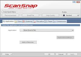 manually adding neat to scansnap utility the neat company