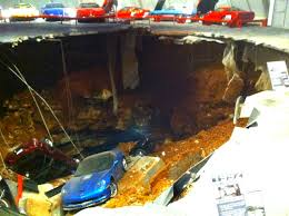 corvette museum collapse porsche charged in corvette museum sinkhole and frame up autoblopnik