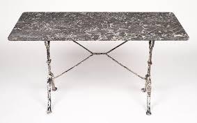 Cast Iron Bistro Table Home Design Breathtaking White Marble Bistro Table Iron