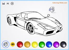 cool cars coloring pages kids ferrari coloring