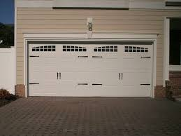 timeless carriage style garage doors enhancing high quality alluring design with chic accent and white color for carriage style garage doors picture