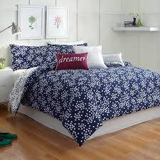 Embroidered Bedding Sets Piece Queen Bluewhite Floral Embroidered Comforter Set Photo With