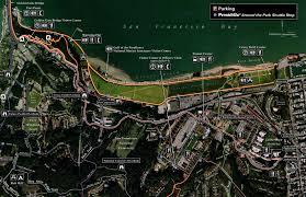 Presidio San Francisco Map by Presidio Promenade Trail U2022 Hiking U2022 California U2022 Hikearizona Com