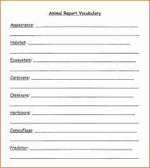 animal report template 3 animal report template printable receipt