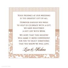 wedding registry card wording awesome wedding wishing well wording contemporary styles ideas