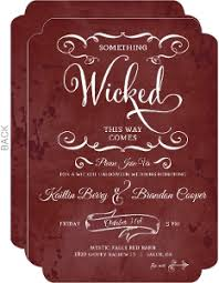 halloween wedding invitations marialonghi com