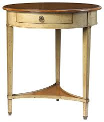 side table rustic teal side table accent table shabby chic decor