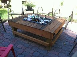 coffee table with cooler simple diy patio table with cooler home design planning simple