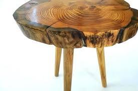 tree stump table base tree stump end table tree trunk table base tree stump end table like