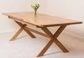 Extending Wood Dining Table Oak Extendable Dining Table Ebizby Design
