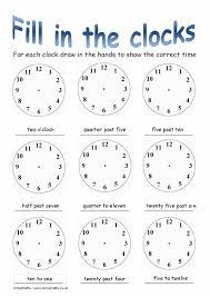 free worksheets time worksheets oclock time worksheets laveyla